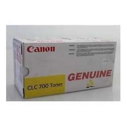 TONER PHOTOCOPIEUR ORIGINAL CANON CLC700 JAUNE 4600 PAGES