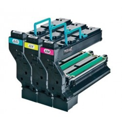 PACK 3 TONER COULEUR ORIGINAL MINOLTA 1710606 3x12000 PAGES
