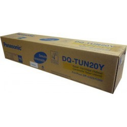 TONER ORIGINAL PANASONIC DQ-TUN20Y JAUNE 20000 PAGES