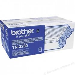 TONER LASER ORIGINAL BROTHER TN3230 NOIR 3000 PAGES