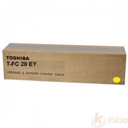 TONER ORIGINAL TOSHIBA FC28E-Y / 6AK00002112 / JAUNE